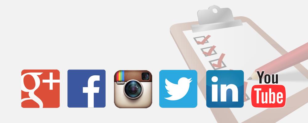 checklist social media