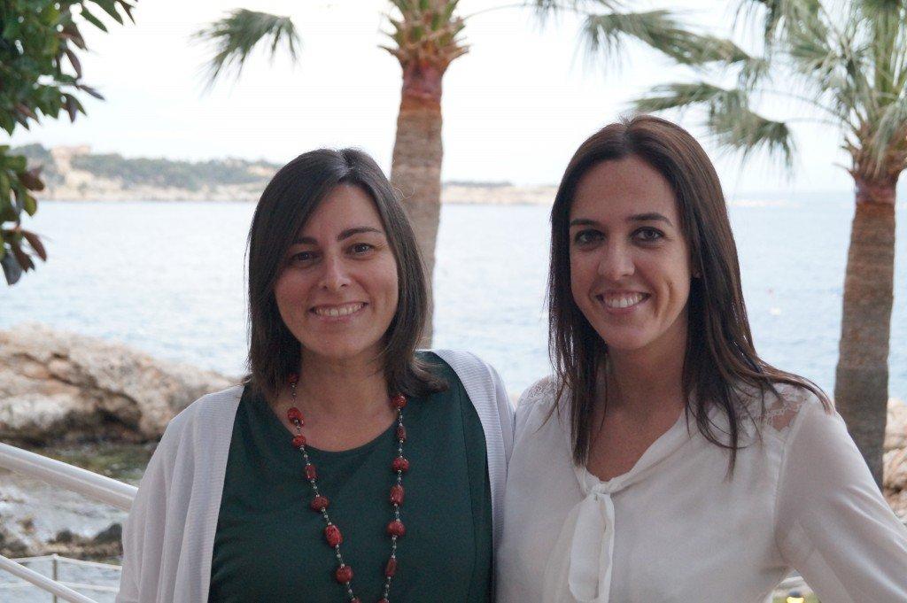 Nuria Torres y Patri Bárcena