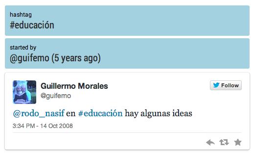 hashtag-educación