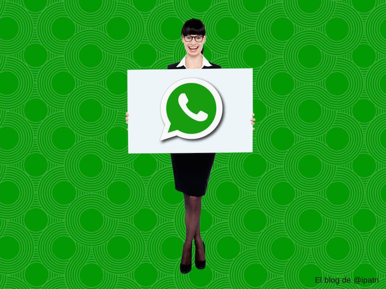 Hablemos de Whatsapp (con firma)