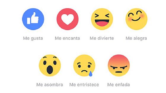 los sentimientos en Facebook