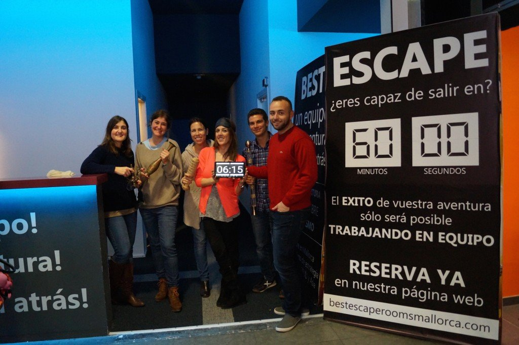 Best Escape Rooms Portada