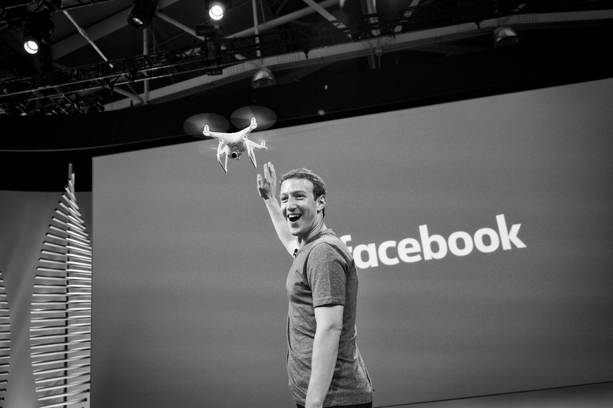Mark Zuckerberg Drone F8