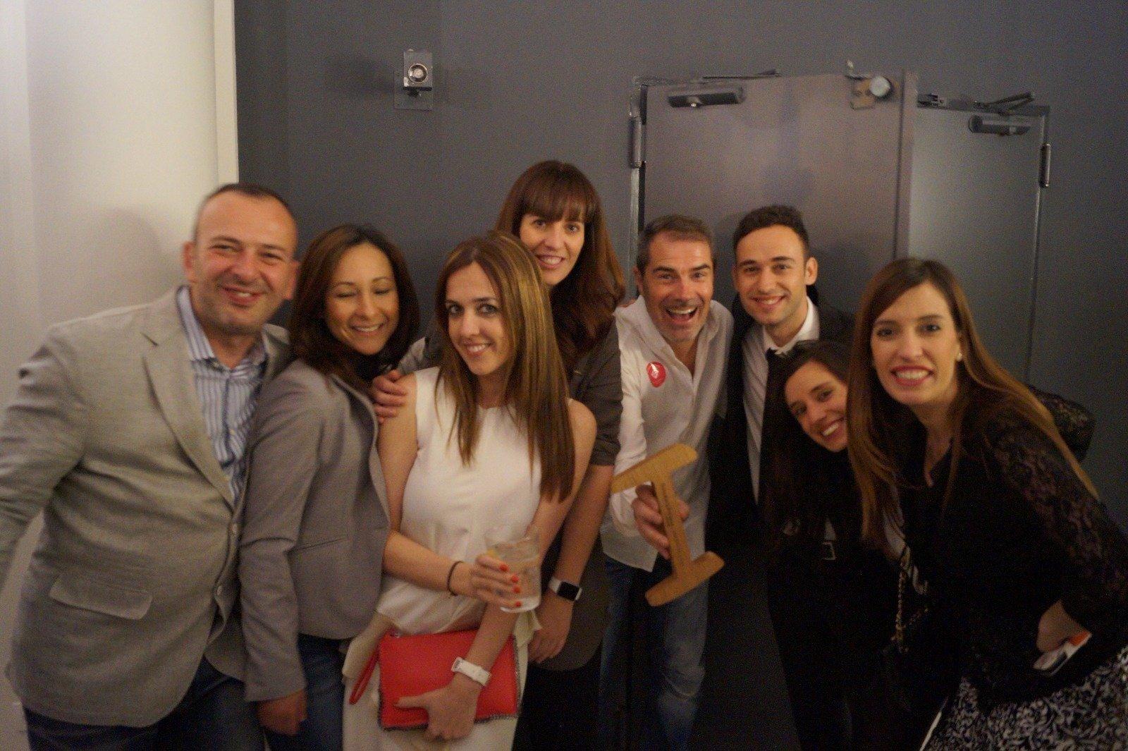En Iberostar Las Letras con Clara Soler, Diego Pons y Jaime Estévez